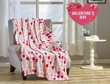 Noble House Valentine's Day Plush Throw Blanket product image