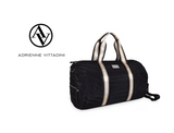 Adrienne Vittadini Quilted Barrel Weekender Duffel Bag product image