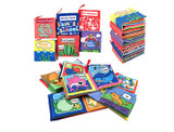 Educational Cloth Books for Babies (6-Pack) product image