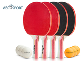Abco Tech Ping Pong Paddle & Table Tennis Set  product image