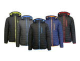 Men's Heavyweight Water Resistant Puffer Jacket with Detachable Hood product image
