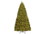 Pre-Lit 6-, 7-, or 8-Foot PVC Spruce Hinged Christmas Tree  (Clearance) product image