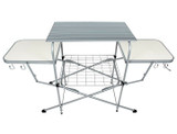 Deluxe Steel Frame Grilling Table product image