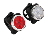 USB Rechargeable Bike Headlight and Taillight Set product image