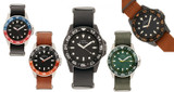 Elevon Dumont Men's Leather Band Watch product image