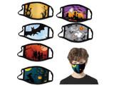 Kids' Reusable Washable Masks (6-Pack Assorted Patterns) product image
