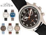 Elevon Antoine Chronograph Leather-Band Watch product image