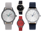 Simplify 2400 Men's Water Resistant Leather Band Watch product image