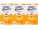 Little Remedies Real Honey Sore Throat Pops (3-Pack) product image