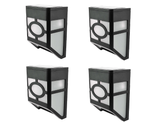 Decorative Solar LED Wall Mounted Light (4-Pack) product image