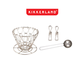 Kikkerland Design Pour Over Coffee Set product image