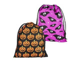 Halloween Drawstring Trick or Treat Bags (12-Pack) product image