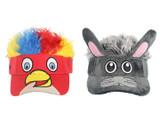Flair Hair Adjustable Animal Visors for Kids product image