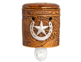Scentsationals Leather Embossed 15-Watt Plug-in Accent Wax Warmer product image
