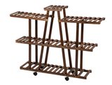 Multifunctional Wooden Rolling Plant/Display Rack product image
