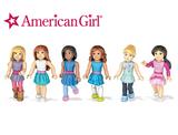 American Girl Collectible Mini Figures Set (Set of 6) product image
