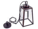 Wrought Iron and Glass Chandelier product image
