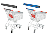 Reusable Neoprene Shopping Cart Handle Covers (Set of 2) product image