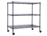 Black 3-Shelf Portable Multimedia Cart  product image