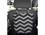 Fabric Solid or Chevron Printed Auto Trash Bag product image