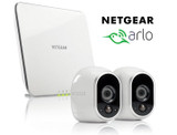 NETGEAR Arlo Security System with 2 Wireless HD Cameras product image