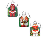 Novelty Santa and Mrs. Claus Aprons product image
