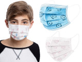 Kids' 3-Ply Face Masks with Adjustable Nose Piece product image