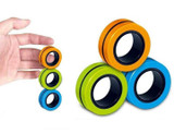 Magnetic Finger Ring Fidget Toy (9-Pack) product image