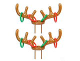 Inflatable Reindeer Ring Toss Game (Set of 2 Antlers) product image