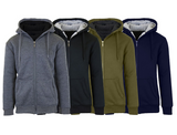 Men's Heavyweight Sherpa Fleece-Lined Zip Hoodie product image