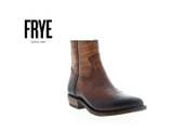 Frye Women'sBilly Inside Zip Bootie Brown Boots product image