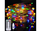 12m USB Plug Remote Control LED String Lights product image