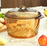 YITA Made in France Round Stewpot with Glass Cover product image