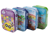 Assorted 24-Piece Puzzles with Reusable Storage Containers (4-Pack) product image