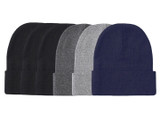 Qraftsy Ribbed Cuffed Beanies (6-Pack) product image
