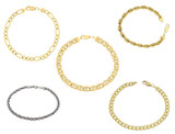 Gold Plated Cuban, Mariner, Figaro, or Rope Bracelet product image