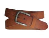 Amerileather Men's Rust Woven Pattern Belt product image