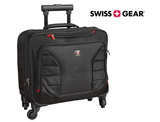 SwissGear 17-Inch Wheeled Laptop Briefcase with Overnight Compartment product image