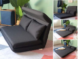 Multi-Functional Lazy Sofa Floor Chair & Recliner Bed with Pillows product image