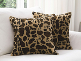 Leopard Print Throw Pillows (Set of 2) product image