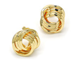Love Knot 18K Gold Plated Stud Earrings product image