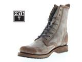 Frye Veronica Combat Women's Brown Suede Boots product image
