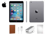 Apple iPad Mini 16GB with Case and Tempered Glass Screen Protector Bundle product image