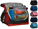 Insulated Cooler Tote Lunch Box with Adjustable Strap (Clearance) product image