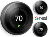 Google Nest 3rd Gen Programmable Smart Learning Thermostat product image