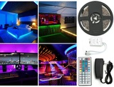 16-Foot LED Light Strip with Remote Control & Mounting Tape (Clearance) product image
