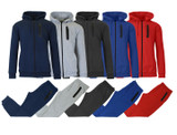 Men's French Terry Hoodie and Jogger Pants Set  product image