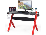 Red and Black Gaming Computer Desk product image