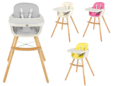 Babyjoy 3-in-1 Convertible Wooden High Chair product image