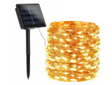66-Foot 200-Bulb Super Bright Solar LED String Fairy Lights product image